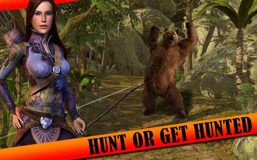 Archery Girl Animal Hunting 3D For PC
