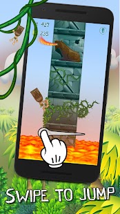 Tappy Tiki - Endless Climber - screenshot