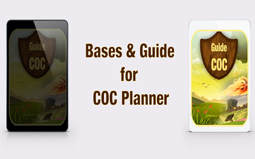 Bases & Guide for COC planner - screenshot
