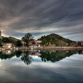 Mirror by Lucijan Španić - Landscapes Travel ( mirror, village, travel, landscape )