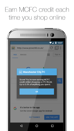 Manchester City FC Browser APK
