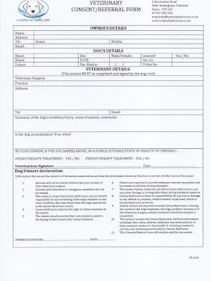 Vet Referral Form