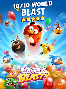 Free Download Angry Birds Blast APK for Blackberry