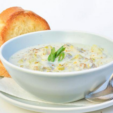Coastal Louisiana Oyster Chowder