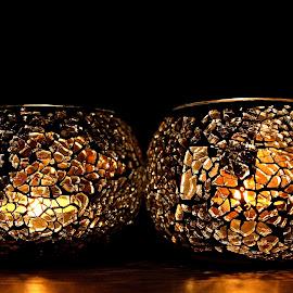 summernights by Danae Kaps - Artistic Objects Furniture ( candlelight, darkandlight, zen, relaxing, summernights )