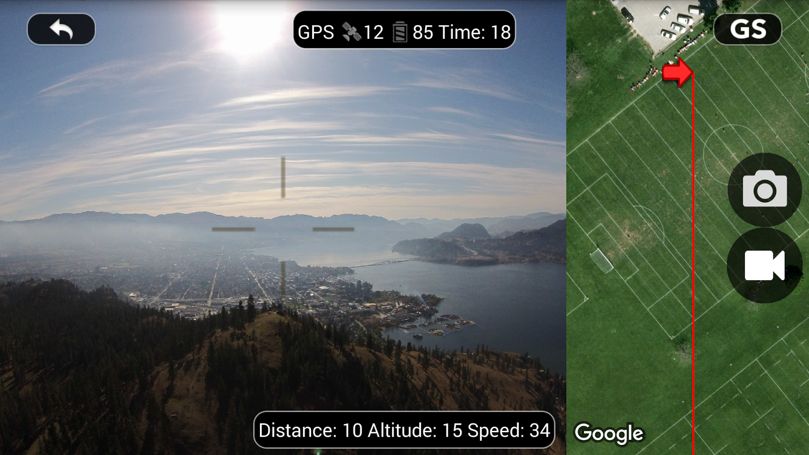 DJI Phantom Flight (v2) Screenshot 0