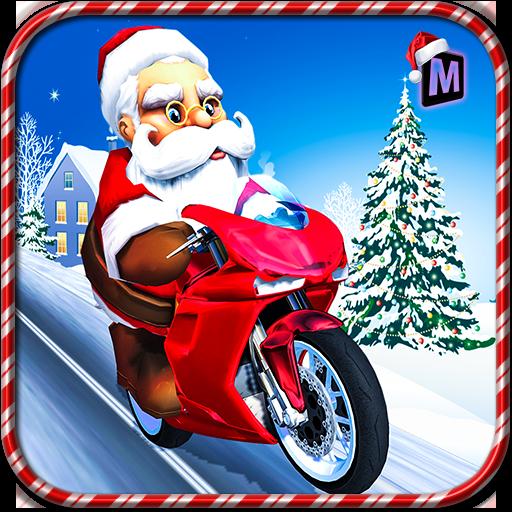 Crazy Santa Moto Gift Delivery (game)