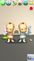 Screenshot of Talking Baby Twins - Babsy