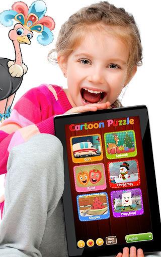 Cartoon Jigsaw puzzle for kids