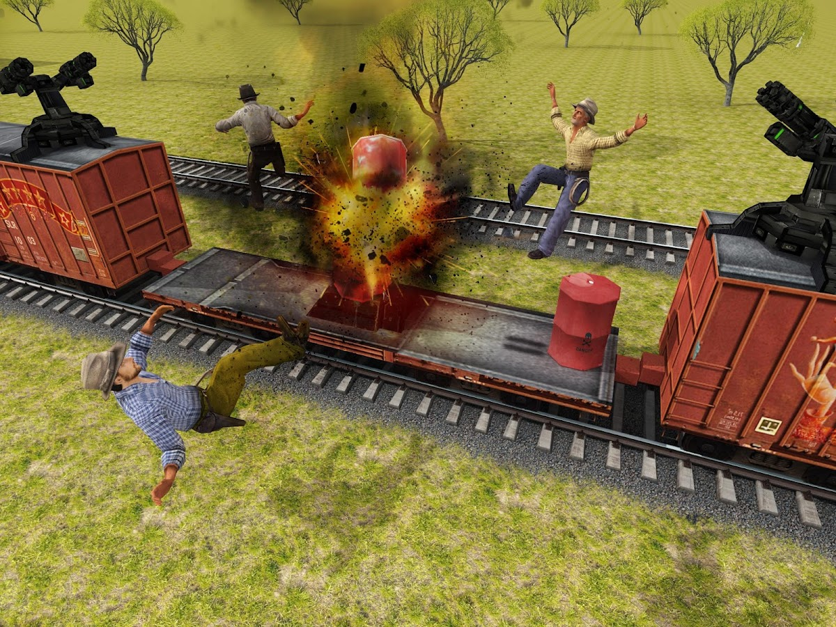 Furious Train Sniper 2016 Screenshot 8