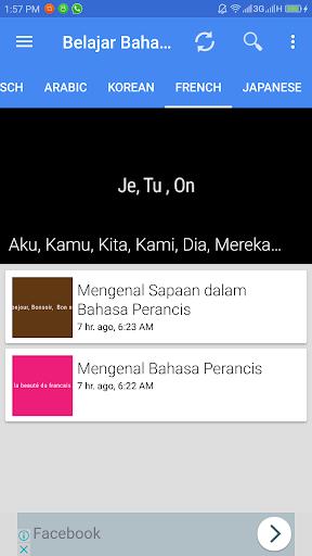 Aplikasi Belajar Bahasa screenshot 2