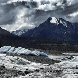 Matanuska Glacier by Tara Bauman - Landscapes Travel