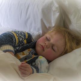 Afternoon Nap by Keith Sutherland - Babies & Children Children Candids ( nap, sleep, boy )