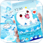 Aquarium Sea Seals Theme Wallpaper Icon