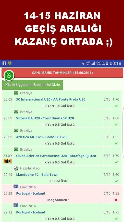VIP Betting Tips: Premium Tips Screenshot 2