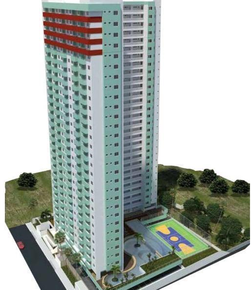 Apartamento com 2 dormitórios à venda, 78 m² por R$ 253.000 - Treze de Maio - João Pessoa/PB