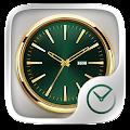 Exquisite GO Clock Theme APK for Bluestacks
