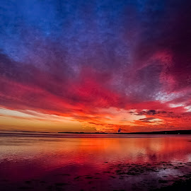 Before dawn  by Gordon Bain - Landscapes Sunsets & Sunrises ( dawn, thought provoking, amazing colours, stunning, inverness )