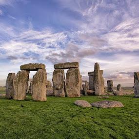 Stone Henge by Sefanya Dirgagunarsa - Landscapes Travel ( landmark, travel,  )