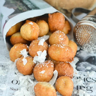 Coconut Puff-puff( Deep fried coconut dough)