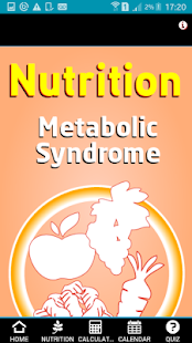 Nutrition Metabolic Syndrome screenshot for Android