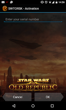 The Old Republic™ Security Key APK screenshot thumbnail 1