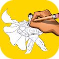 Download How to Draw Super Man APK on PC