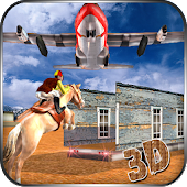 Game Airplane Pilot Horse Transport APK for Kindle