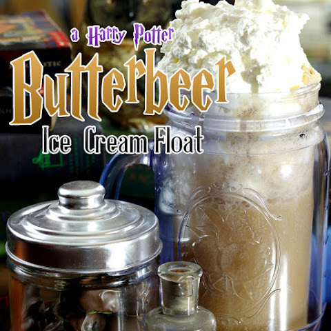 Homemade Butterbeer Floats