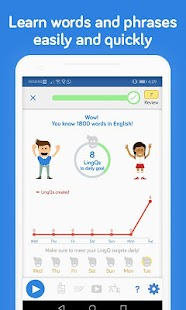 Learn Languages LingQ: Read, Listen,SRS Vocabulary Screenshot
