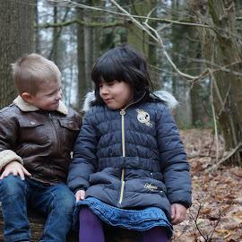 Love in the air by Kim Mesorten - Babies & Children Child Portraits