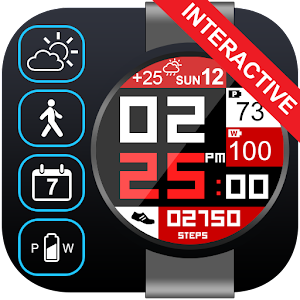 SuperSquare Watch Face