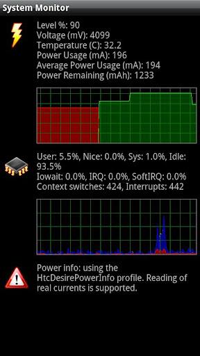 System Monitor screenshot 2