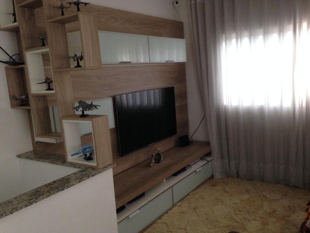 Casa com 3 dormitórios à venda, 100 m² por R$ 371.000 - Vila São Jorge - São Vicente/SP