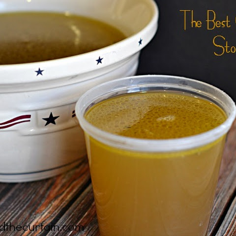 The Best Chicken Stock
