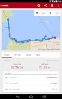 Screenshot of Runtastic Road Bike Tracker