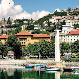Rijeka, Croatia by Francis Xavier Camilleri - City,  Street & Park  Vistas