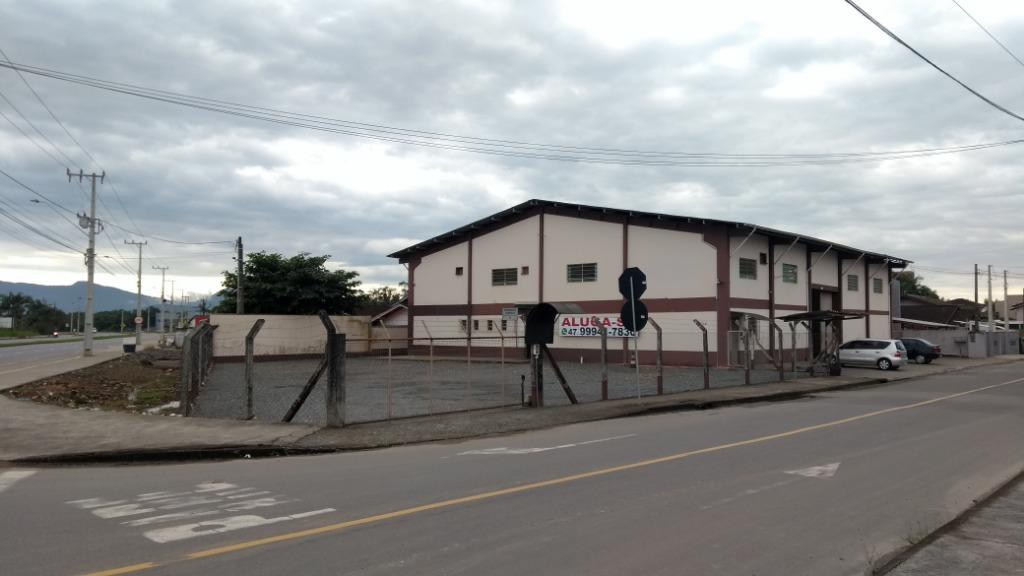 Pavilhão/galpão/depósito para alugar  no Aventureiro - Joinville, SC. Imóveis