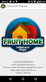 Fruit Home - screenshot