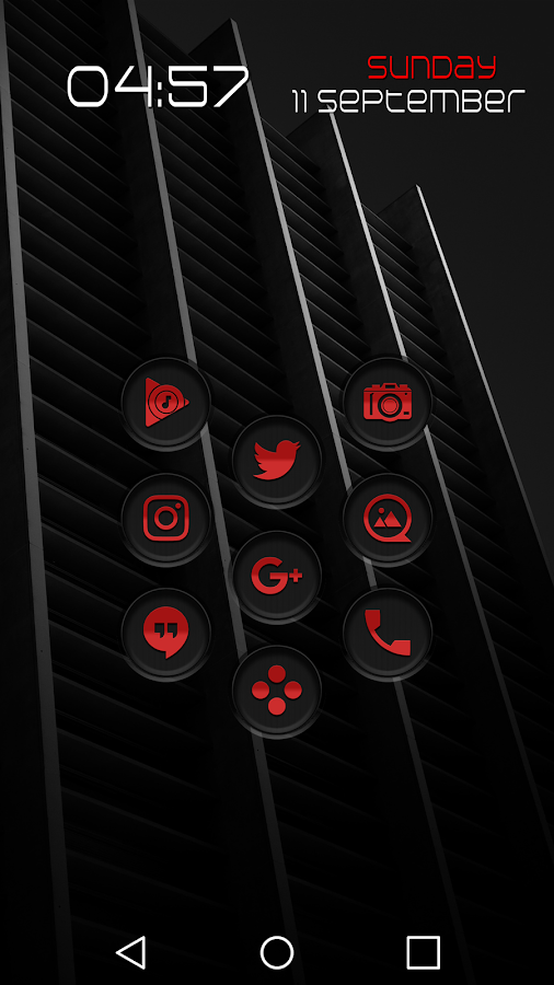 Jaron XE Red Icon Pack Screenshot 1