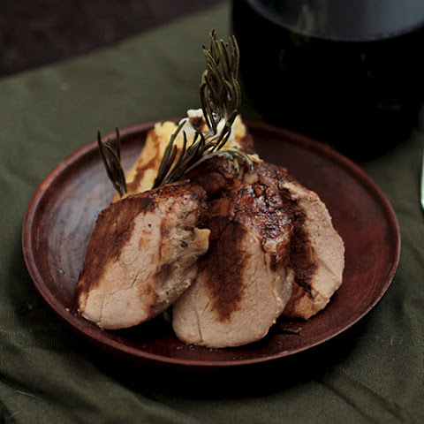 Orange and Rosemary Roasted Pork Tenderloin
