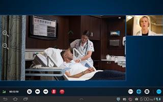 Screenshot of RealPresence Mobile - Tablet