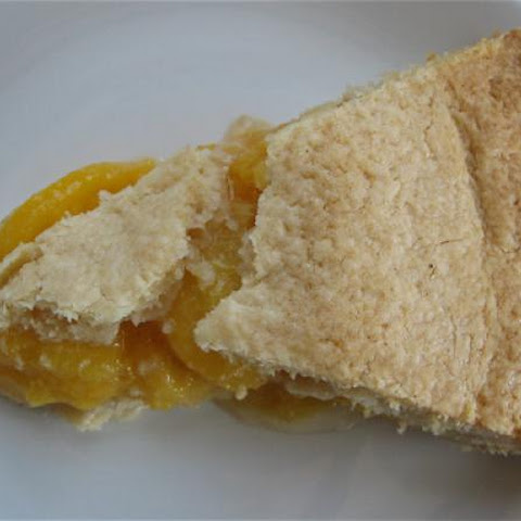 Recipe for Perfectly Classic Peach Pie
