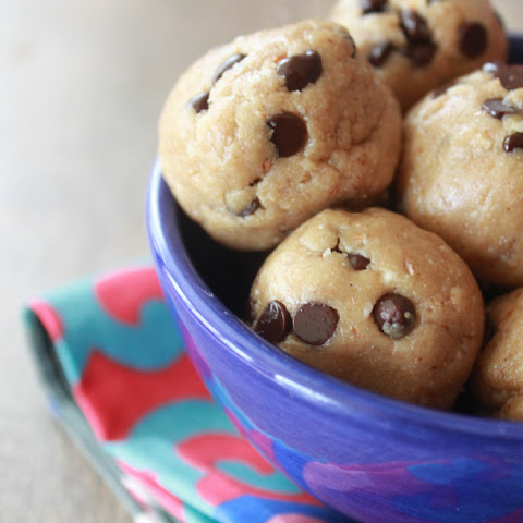 Almond Butter Raw Cookie Dough Bites.