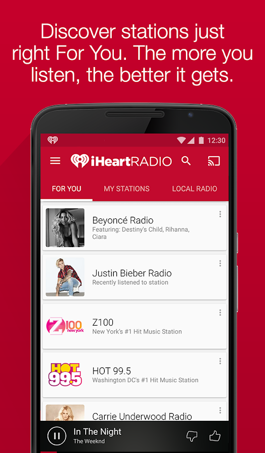 iHeartRadio Free Music & Radio Screenshot 5