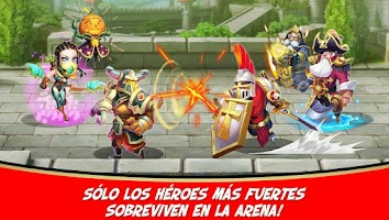 Screenshot of Castillo Furioso: Castle Clash