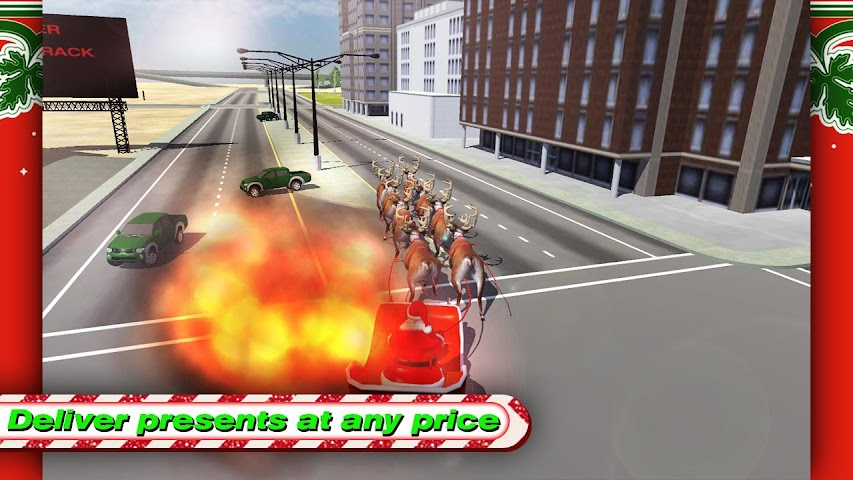 android Santa Rally Drift LOKO HD Screenshot 1