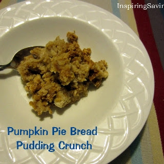 Pumpkin Pie Bread Pudding Crunch – Crock Pot Sweetness