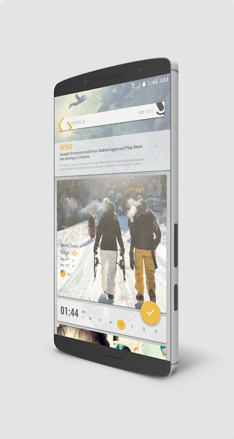CoLd advenTure for KLWP Screenshot 4