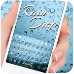 Blue Raindrops Keyboard Theme Icon